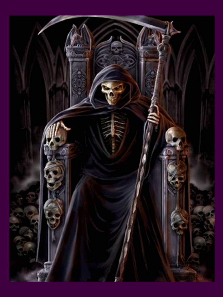 Selling Holy Death – From Grim Reaper to Skeletal Virgin, A