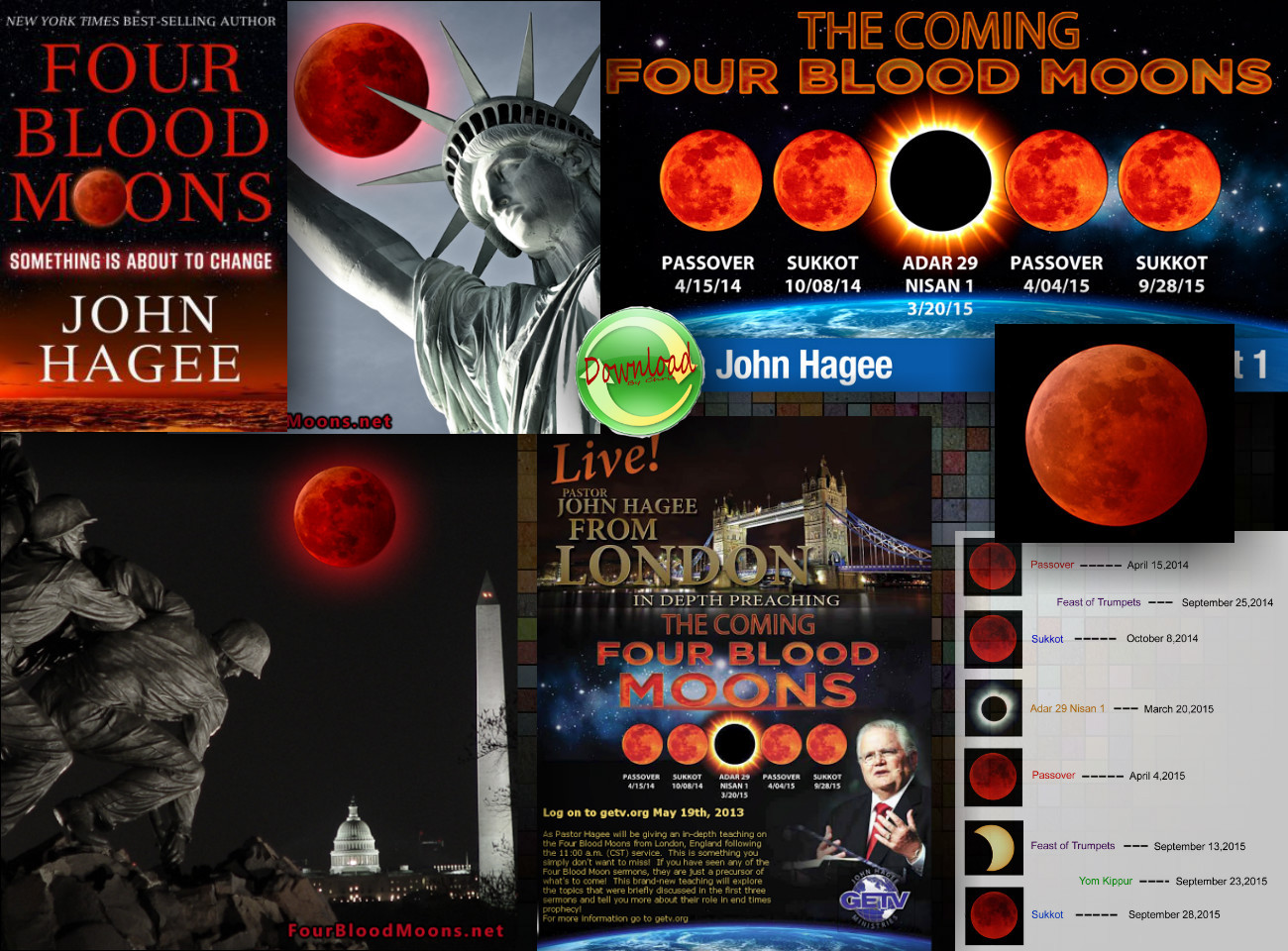 The End Times Terror of Four Blood Moons!